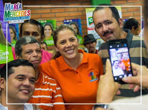 María Mercedes Muñoz se la juega por generar empleo en Floridablanca