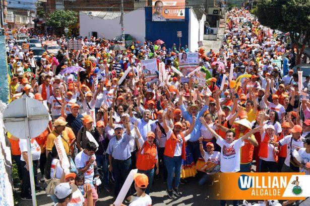 La mancha naranja confirma que William Gómez será el alcalde de los florideños