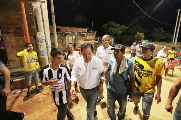 Con Fredy la seguridad volverá a los barrios y calles de Bucaramanga