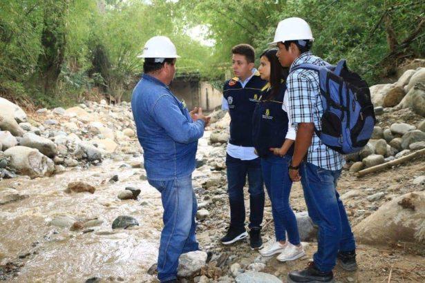 Inician las labores para mitigar el riesgo en Río Frío