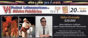 VI Festival Latinoamericano de Música Folclórica