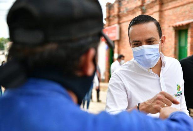 Gobernador de Santander sigue fortaleciendo la primera línea de batalla frente al COVID-19