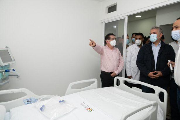 Médicos en Santander agradecen al Presidente Duque bonificación por servicios en la atención del covid-19