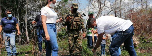 Ecopetrol entrega 1.000 árboles a la Cienaga de Paredes