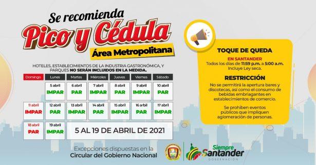 Se extienden las medidas para mitigar los contagios por COVID-19 en Santander
