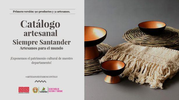 Catálogo artesanal Siempre Santander, una estrategia de reactivación económica