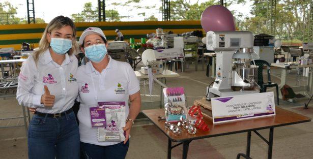 Valientes Emprendedoras reforzó 210 emprendimientos de mujeres rurales en la provincia de Vélez