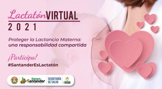 Santander participa en la Lactatón 2021