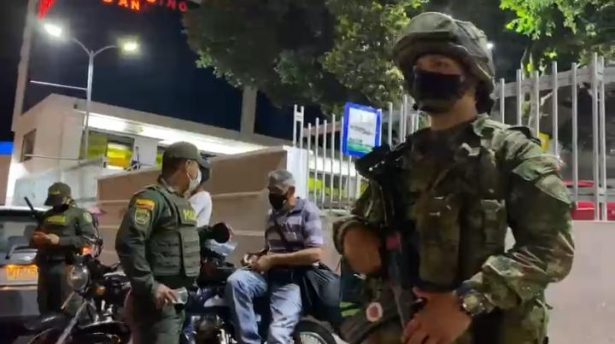 Alcaldía de Floridablanca realiza operativos de seguridad en el municipio